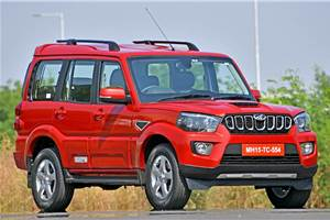 BS6 Mahindra Scorpio to come in four variants