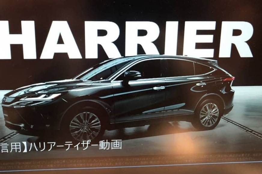 Next-gen Toyota Harrier leaked ahead of debut