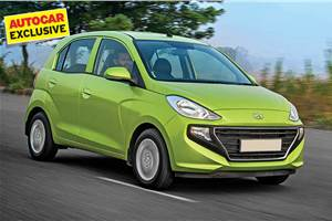 BS6 Hyundai Santro rated at 20kpl by ARAI