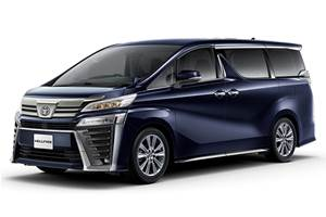 Special-edition Toyota Vellfire, Alphard revealed