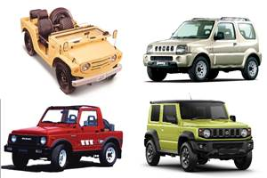 50 years of the Suzuki Jimny