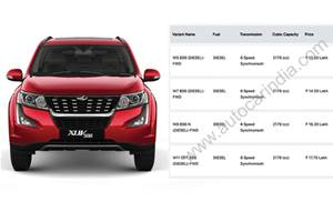 BS6 Mahindra XUV500 priced between Rs 13.20-17.70 lakh