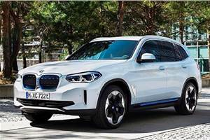 BMW iX3 EV SUV images leaked