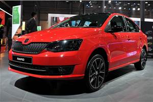Skoda Rapid 1.0 TSI to launch with manual gearbox only