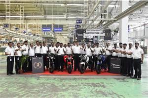 TVS Motor Company resumes operations