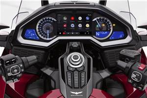 Honda Goldwing gets Android Auto