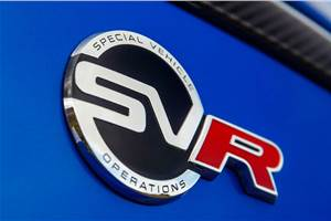 JLR plans to expand SVO performance division