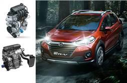 Honda WR-V facelift BS6 diesel rated at 23.7kpl