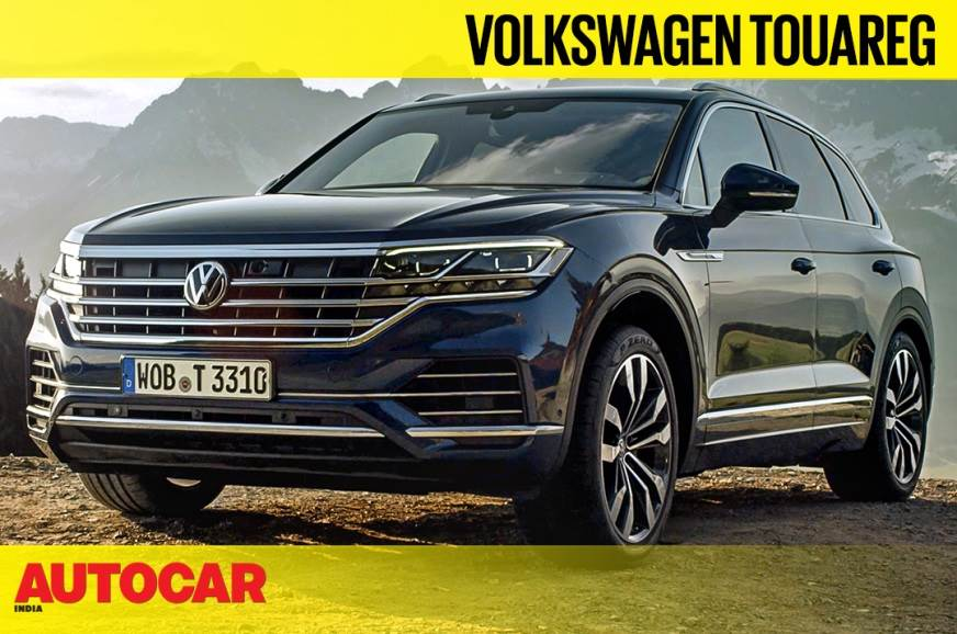 Volkswagen Touareg video review
