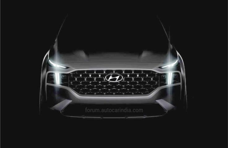 Heavily updated Hyundai Santa Fe teased ahead of unveil