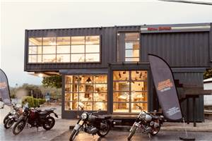 Royal Enfield inaugurates portable showroom in Thailand