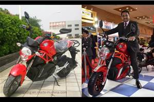 Okinawa Oki100 motorcycle: another rebranded Chinese EV?