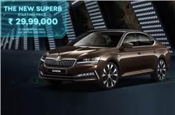 2020 Skoda Superb facelift launched at Rs 29.99 lakh
