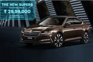 2020 Skoda Superb facelift launched at Rs 29.99 lakh