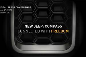 Jeep Compass facelift to be unveiled on June 4, 2020