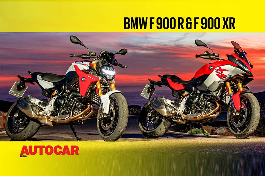 BMW F 900 R, F 900 XR video review