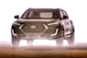 Nissan Magnite compact SUV latest teaser shows new design details