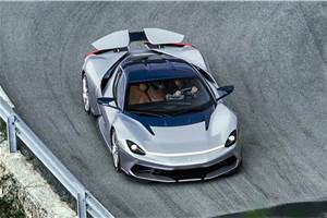 Pininfarina Battista plans on track