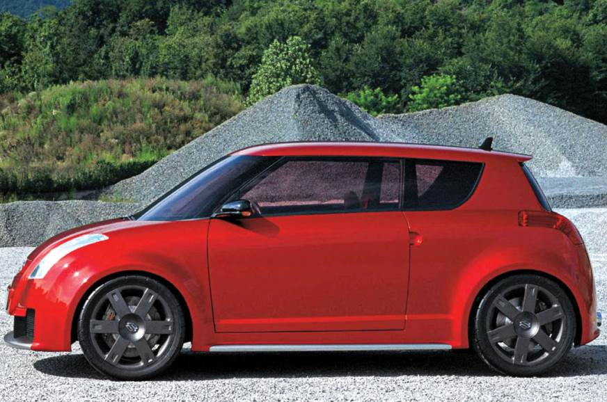 Concept S was where the Swift came from; and you can see ...
