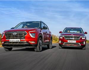 2020 Hyundai Creta vs Kia Seltos comparison