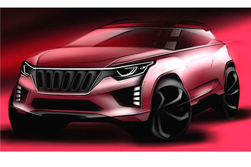 Mahindra future SUV sketch. (Image used for reperesentation)