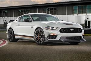 2021 Ford Mustang Mach 1 revealed