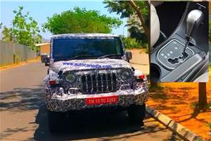 Mahindra confirms automatic option for next-gen Thar