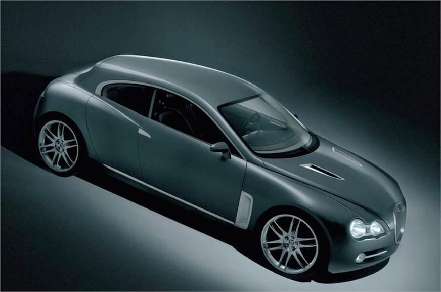 2003 Jaguar RD-6 concept used for representation.
