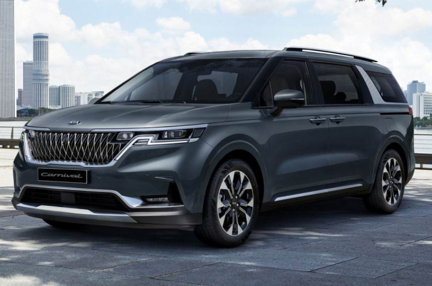 2021 Kia Carnival: first pictures revealed