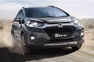 2020 Honda WR-V facelift launched at Rs 8.50 lakh
