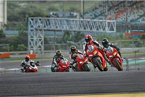 Ducati India track day experience 2018