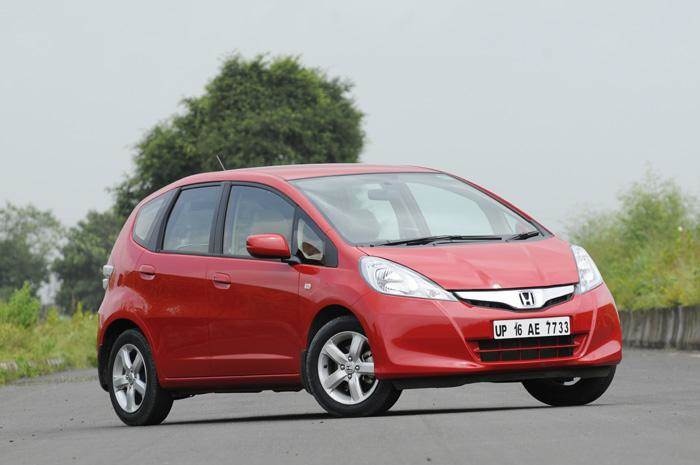 New tyres for 2011 Honda Jazz
