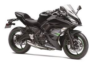 Questions regarding a Kawasaki Ninja 650