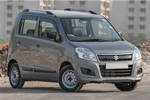 Upgrading tyres on a Maruti Suzuki Wagon R