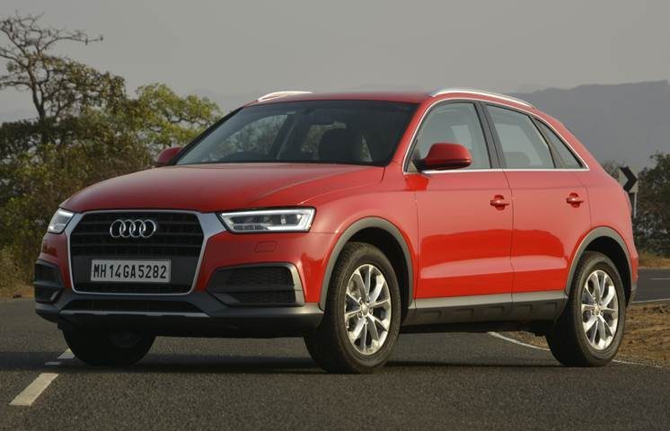 Audi 's Q3 gives a sense of luxury and refinement, and has a decent ride.