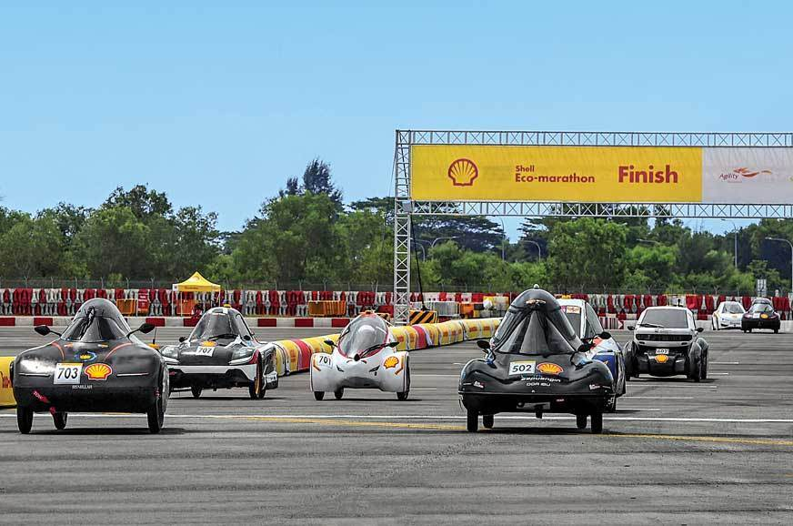 Race for the Future: Shell Eco-marathon experience