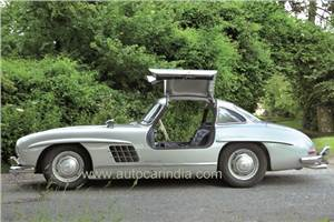 1954 Mercedes 300 SL Gullwing review, test drive
