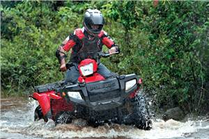 Polaris Sportsman 500 HO, RZR 800 ATV review