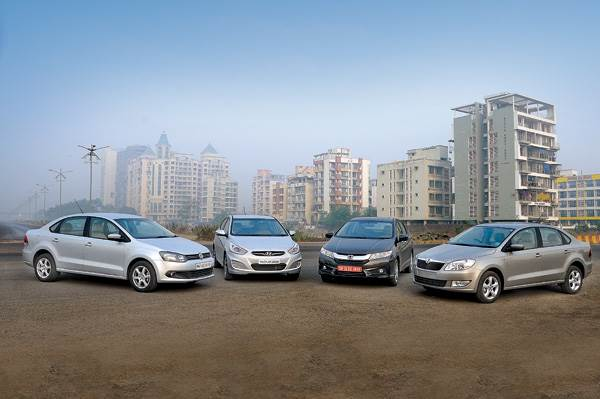 New Honda City diesel vs rivals full comparison