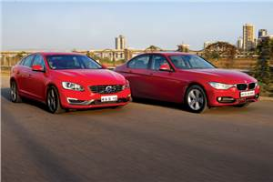 Volvo S60 vs BMW 320d