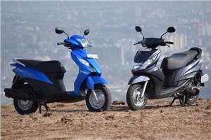 Suzuki Lets vs Yamaha Ray