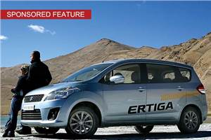 Sponsored feature: Maruti Ertiga