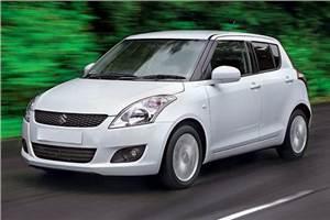 Changing brake pads of 2013 Maruti Swift