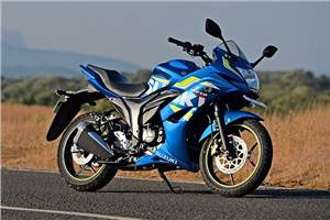 Height requirement for a Suzuki Gixxer SF