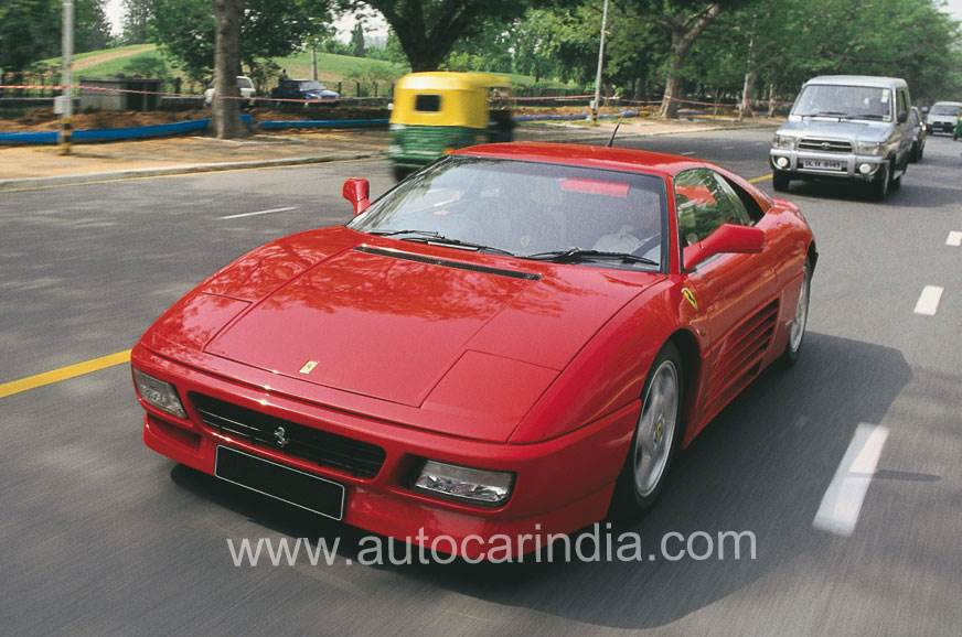 Ferraris in India: Back in the day