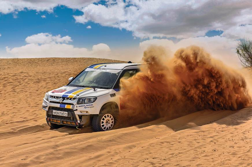 Sponsored feature: Maruti Suzuki Desert Storm 2018