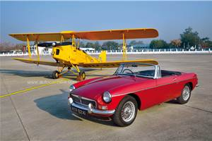Light and Agile: MGB vs DH 82 Tiger Moth