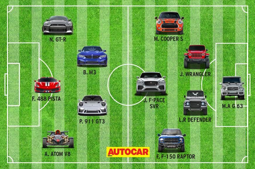 2018 FIFA World Cup: the Autocar Dream XI