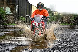 Monsoon riding: How to keep yourself and your belongings dry