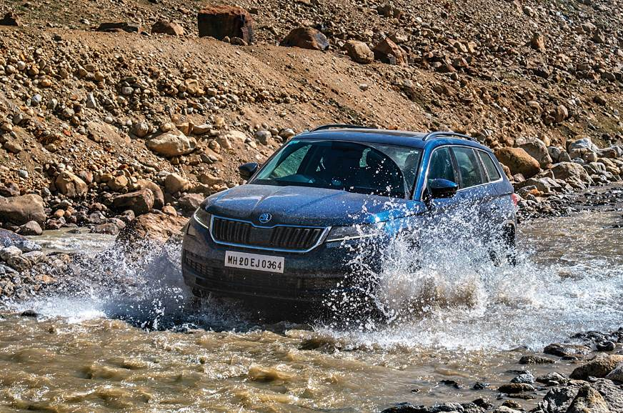 Skoda Kodiaq visits the Himalayas
